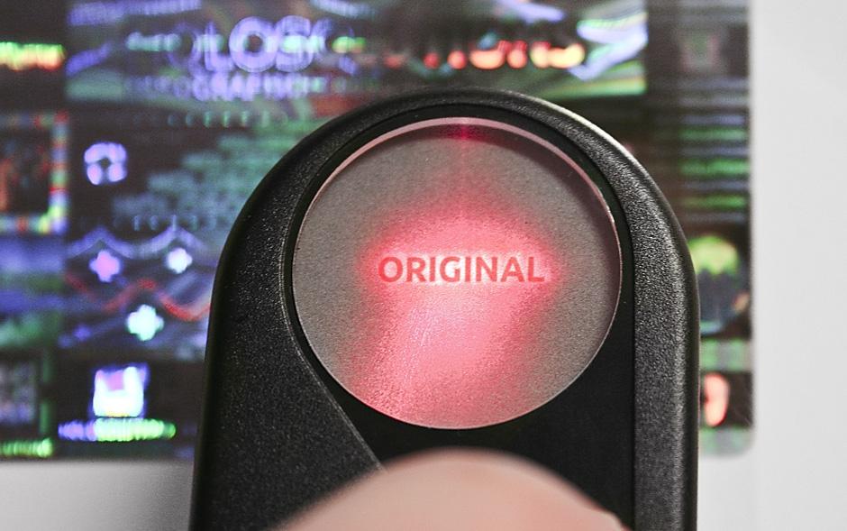 Covert Laser Readable CLR