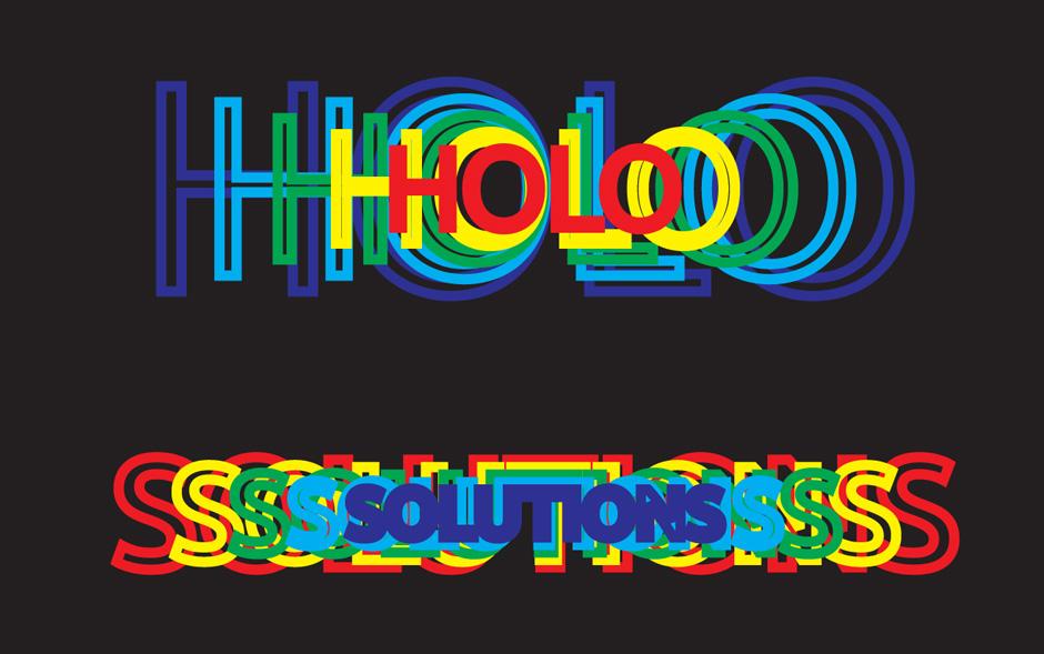 Zoom-Effekt Hologramm
