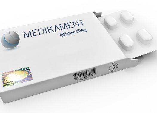 Medikamentpackung mit Hologramm