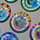 swissmade hologramm kleber