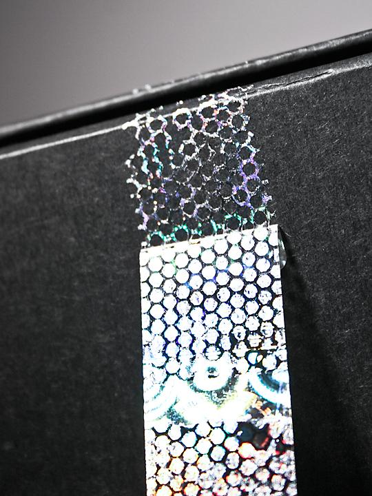 Hologramm-Siegel, 50 x 15 mm