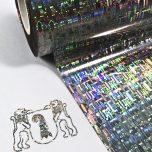 Holografische Heissprägefolie