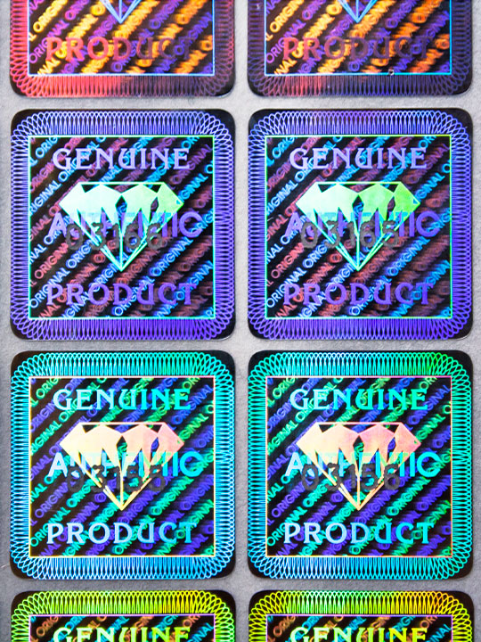 Hologramm Sujet Diamant