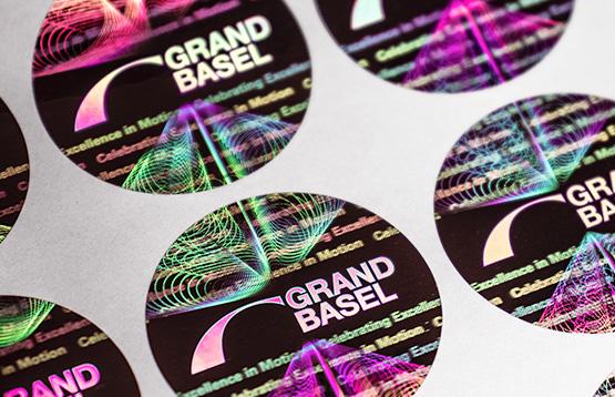 Grand Basel Hologramm