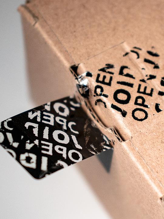 VOID label schwarz